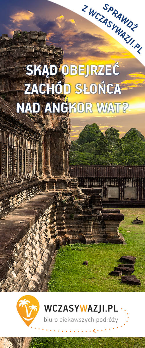 Wakacje w Kambodży. Wyjazdy do Kambodży z Wczasywazji.pl